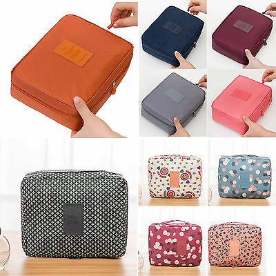 Makeup Storage Bag Toiletry Case Hanging Wash Pouch Cosmetic Travel Organizer SH