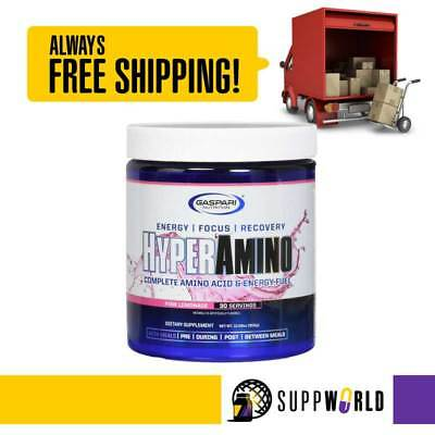Gaspari Nutrition Hyper Amino - Amino Acids with Extreme Energy Boost  (SMN)