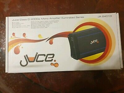 Juice JA2401D Digital MONO Block power amplifier 2000 watts