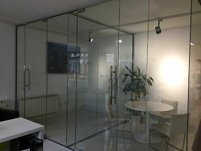Cheap Stock Size 10mm Toughened Glass & Doors for Office Partitioning
