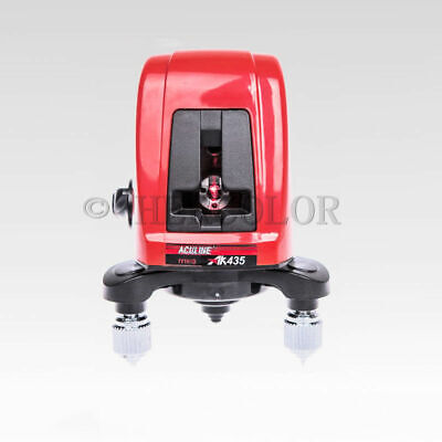 Portable AK435 360 Degree Self-leveling Cross  Laser Level 2 Line 1 Point