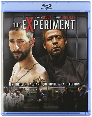 THE EXPERIMENT(2010)-adrian brody-BLU RAY INCLUS VF- NEUF SOUS BLISTER
