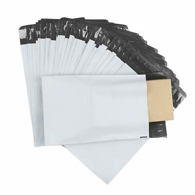 100 Pcs 6 x 9 White Poly Mailer Envelopes Shipping Bags with Self Adhesive
