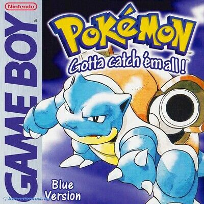 GameBoy jeu - Pokemon Blaue Edition / Blue Version ANGLAIS cartouche utilisé