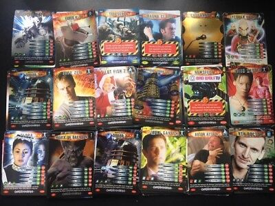 180+  Doctor Who Battles In Time Trading Cards