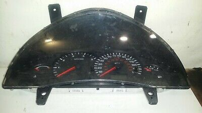 Ford Transit Connect Speedometer Instrument Cluster 2005 1.8 Tdi