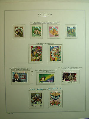 Italy 1994 Year complete on sheets marine values new mnh