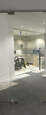 Toughened Glass Office Doors Ready Made Sizes & Custom Made