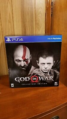 God Of War Collector's Edition, Ps4, New/sealed