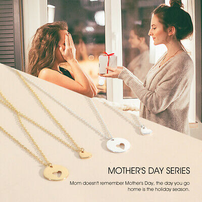 Stylish Ladies Necklace Hollow Heart Pendant Necklace Mother's Day gift  520