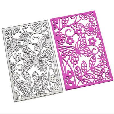 Flower Edge Metal Cutting Dies Stencil Scrapbook Embossing Paper Card Craft JA