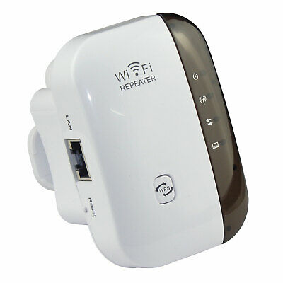 Wireless WiFi Repeater 10M Range Extender Booster Router N 802.11 AP 300Mbps IR