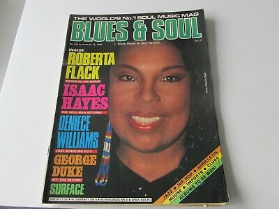 Blues And Soul Magazine: Issue No.524 (Dec 6-19 1988)