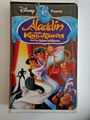 Walt Disney's Aladdin and the King of Thieves (VHS, 1996) #4609