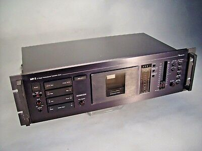 Nakamichi MR-2 * 2 Head Professional Cassette Deck  * Look *