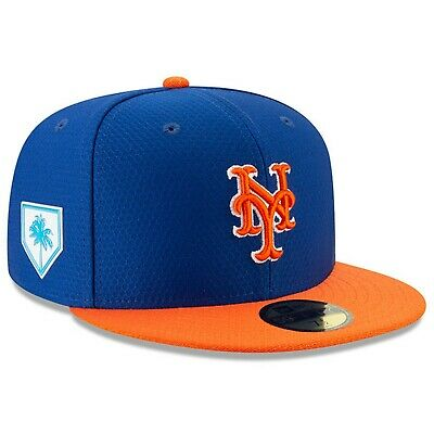74595e96054c05 New York Mets New Era 2019 Spring Training On-Field 59FIFTY Fitted Hat