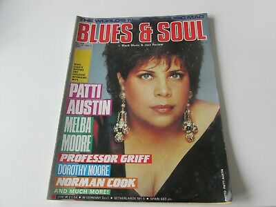 blues and soul magazine issue 559  april 1990