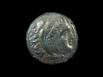 Greek coin of Alexander III The Great, AE18, 336-323 BC,  CC6687