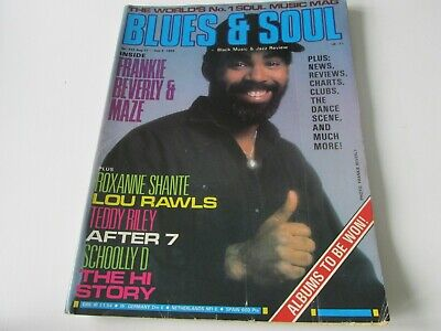 blues and soul magazine issue 542 aug 1989