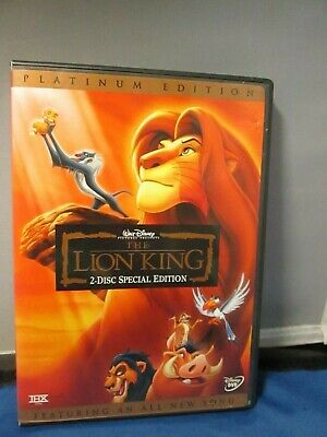 Disney Platinum Edition - LION KING 2 disc dvd
