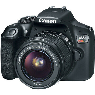 Canon EOS Rebel T6 DSLR Camera with EF-S 18-55mm IS II Lens Kit 1159C003