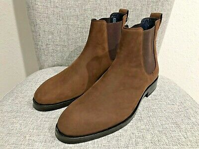 81ded2ddb4f COLE HAAN MEN'S 10 Chelsea Boots Brown Leather Slip On Stretch Ankle ...