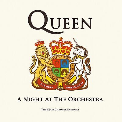 Queen - A night at the orchestra The coda chamber Ensemble CD SEALED SIGILLATO
