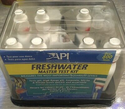 API Freshwater Master Test Kit 800+ count | Promotes Healthy Fish Aquarium NEW