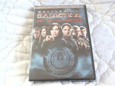 Battlestar Galactica Razor Dvd New Unrated Extended Edition Edward James Olmos