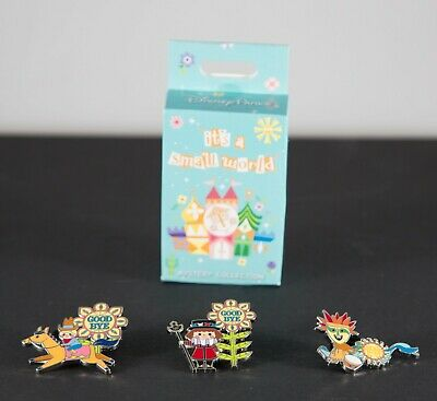New 2019 Disney It's a Small World Mystery Goodbye Pins - Complete your set!