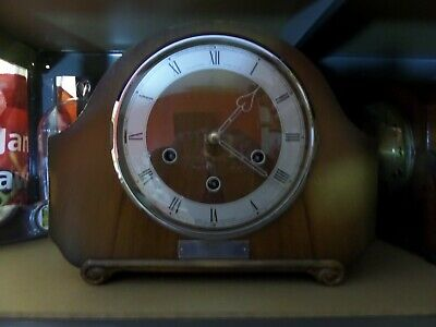 Restored And Serviced Smiths Westminster  Chime Clock    111 Photo Diary Of Work
