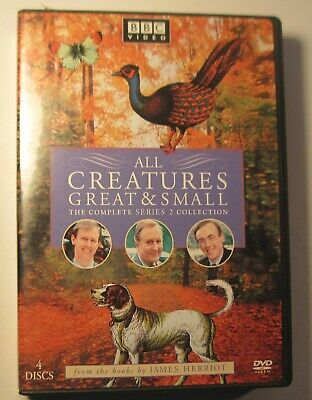 All Creatures Great & Small - The Complete Series 2 Collection Like New