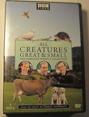 All Creatures Great and Small: The Complete Series 3 Collection Like New