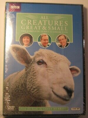 All Creatures Great and Small - Complete Series 6 Collection (DVD, 4-Disc) NEW!