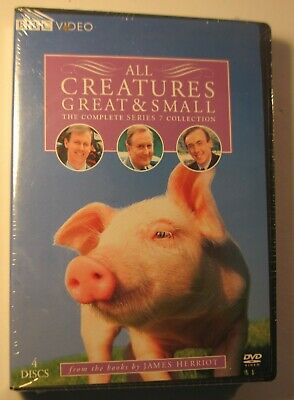 All Creatures Great and Small - Complete Series 7 Collection (DVD, 4-Disc) NEW!