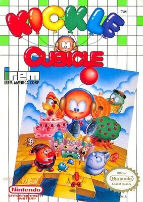 Nintendo NES game - Kickle Cubicle US boxed