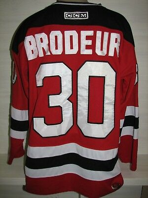 30 Martin Brodeur New Jersey Devils Nhl Ice Hockey Ccm Jersey Size M 79efb71d8