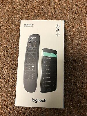 Logitech - Harmony Companion (Remote Control and Smart Hub) - Black