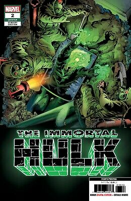 IMMORTAL HULK 2 2018 4th PRINT VARIANT DR FRYE 1st APPEARANCE NM PRE-SALE 4/10