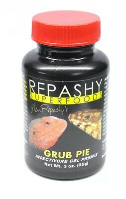 Repashy Superfoods Grub Pie for Reptiles  85G Livefood, Vitamins, Calcium New