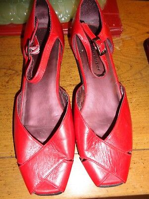 22c609158cc170 Naturalizer Red Leather 7M 2