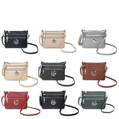 New Ladies Cross Body Messenger Bag Women Shoulder Over Bags Detachable Handbags