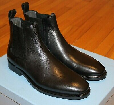 0a278dbf0b7 LANVIN BLACK LEATHER Chelsea Boots Size 7 UK / 8 US Brand New in Box $795