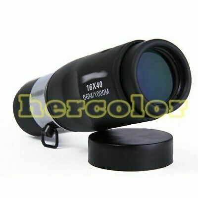 16 x 40 Monocular Telescope 40mm Caliber For Sport Camping Brand New Sale
