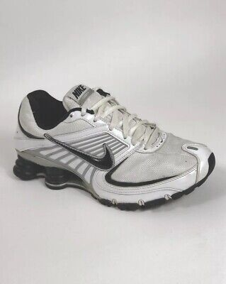 super popular ee7ce 17a56 NIKE TURBO 8 Shox Leather White Women's Athletic Shoes Sneakers Size 7