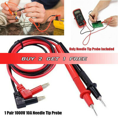 Needle Tip Probe for Digital Multimeter Multi Meter Test Leads Universal WirePen