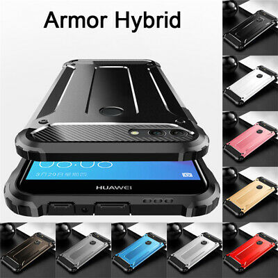 Case For Huawei Honor 10 9 8 Lite 8C 8X 7A Shockproof Armor Hybrid Rugged Cover