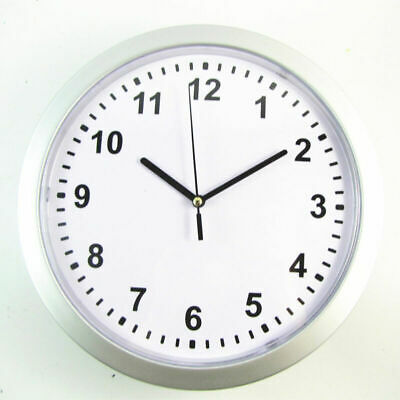 Wall Clock with Hidden Safe Home Security Money Box Shelves