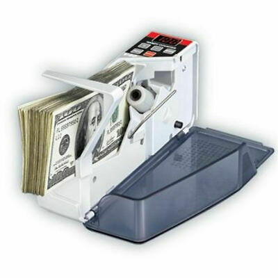 Hot Portable Handy Mini Bill Cash Money Currency Count Counting Counter V40 New