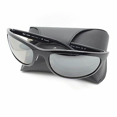 242a8c2c39 Ray Ban 4265 601 5J Black Silver Fade Mirror Polar New Authentic Sunglasses  r